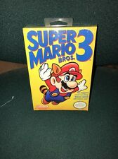 Super Mario Bros. 3 Nintendo NES *New Factory Sealed* H-Seam