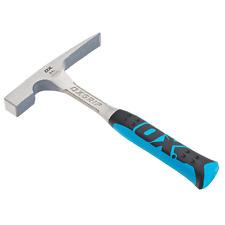 Herramientas de buey Pro Ladrillo Martillo 24oz OX-P082424 mango antideslizante herramientas de albañil