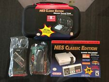 Nintendo Bundle NES Classic, BlueTooth Controller, Extension Cord, Deluxe Case