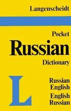 Pocket Russian Dictionary: Russian-English/English-Russian English and Russian