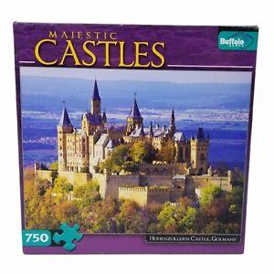 Buffalo Jigsaw Puzzle Majestic Castles Hohenzollern Germany 750 Piece Poster