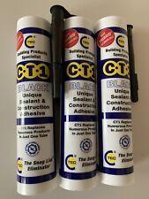 CT1 Sealant 3 tubes (Black)