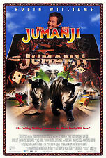 JUMANJI (1995) ORIGINAL VIDEO MOVIE POSTER  -  ROLLED