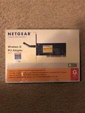 netgear wireless-g pci adapter