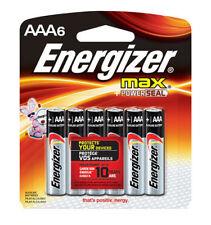 12 Energizer AAA Max + Powerseal Alkaline Batteries 2026 (2x6)