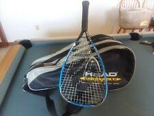 """HEAD Intelligence Official IRT Racquetball Bag ~ 25"""" Long ~ w/Head Racket"""