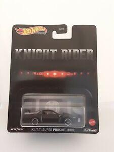 Hot Wheels K.I.T.T. Knight Rider Super Pursuit Mode Pontiac Premium Neu/OVP