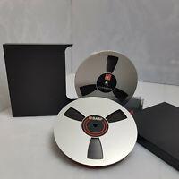 "BASF LP 35 - 1800ft Metal 7"" Reel to Reel Tape Reel Recording Tape 7 inch 18cm"
