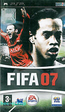 EA Sports FIFA 07 - Sony PSP Football Soccer Game with Gaming Guide
