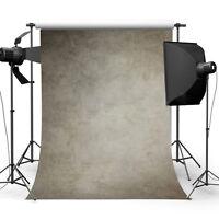 Vintage Grey Vinyl Wall Photography Background Photo Studio Backdrop 5x7ft  NEW