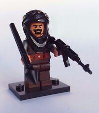 NEW CUSTOM 100% LEGO TERRORIST w/ TAN HEAD & HANDS WEAPONS SOLDIER BAD GUY