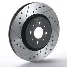 NISS-SJ-122 Front Sport Japan Tarox Brake Discs fit Nissan Qashqai 2.0 dCi 2 07>