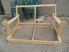 New Hardwood 2 Seater Sofa SETTEE Couch Lounge Frame Upholstery Project