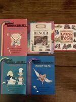 Children Learning Books Lot Of 5 Reading Rainbow Artist More Homeschool Teacher