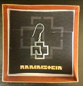 Rammstein Ohrring Sterlingsilber NEU