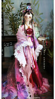 Fashion Girls Gift 1/3 BJD Doll 60cm Dolls with Full Set Clothes Outfit Kids Toy