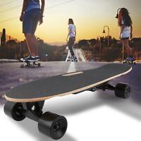 Skateboard Elettrico Nuovo Longboard Elettrico Cruiser 70CM con 4 Ruota ABEC-9