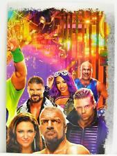 Wrestlemania 34 1 Topps Slam Attax Live Puzzle Karte 380