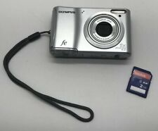 Olympus Stylus Tough 14.0 MP Digital Camera - Silver, 5X Zoom FE-47