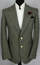Burberry Blazer Jacket Grey Wool 38L AMAZING QUALITY 3312