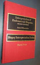Blaustein Endometrial Biopsy Book Vintage 1985 hardcover 0881671207