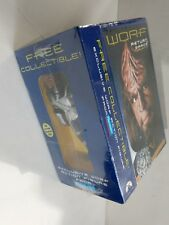 STAR TREK The Next Generation-WORF RETURN TO GRACE COLLECTION Action Figure VHS