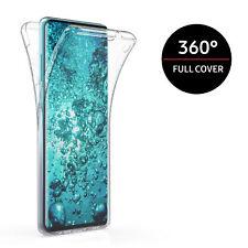360 FULL COVER Hülle Silikon Schutz Handy Case für Samsung Galaxy S20 S10 S9 S8