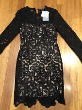 Portmans Signature Dress Size 8 black lace New $149.95 Cocktail Formal Party