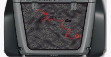 Hood Blackout contour map adventure trip Vinyl Decal Wrangler TJ LJ JK Unlimited