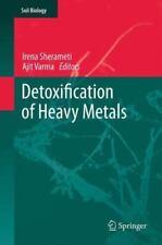Soil Biology: Detoxification of Heavy Metals 30 (2013, Paperback)