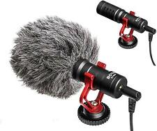 More details for boya by-mm1 cardioid compact on-camera smartphone recording shotgun microphone