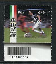 ITALIA 2013 JUVENTUS/FOOTBALL/SOCCER/TEAM CHAMPION/SPORT/FLAG CODICE A BARRE