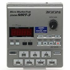 ZOOM Micro Rhythm Trak ZOOM MRT-3 Drum Machine Made in Japan