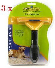 3x Furminator Large Dog Short Hair