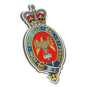 BLUES AND ROYALS CYPHER STICKER - BRITISH ARMY - HOUSEHOLD CAVALRY CAV