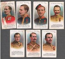 1902 Taddy VC Heroes-Boer War Tobacco Cards Lot of 7
