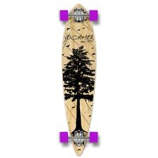 Yocaher Pintail Longboard Complete - In the Pines : Natural
