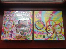 8000 pieces In 2 packs Scented Loom Bands & Neon & Glow  Sets    BNIB
