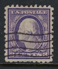 SCOTT 464 1916 3 CENT WASHINGTON REGULAR ISSUE TYPE 1 USED VF CAT $17!