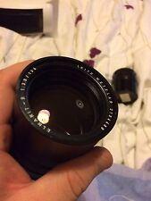 Leica R Elmarit 135mm F2.8 3 Cam Wetzlar Lens Excellent Optics Body