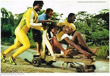 PUBLICITE ADVERTISING 095  2003  PUMA   baskets FF athlétisme JAMAIQUE (2p) 3