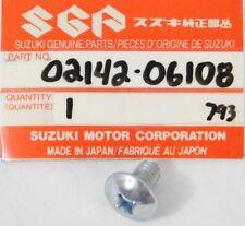1 NOS OEM Suzuki GSX-R1100 GSX-R600 GSX-R750 GS650 GS550 GS450 FA50 Screw 6x10
