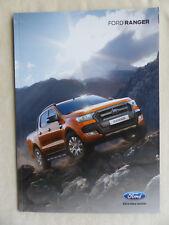 Ford Ranger XLT Limited Wildtrak-folleto brochure 09.2015