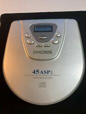 Koss Cdp1945Cp Portable Cd Player 45 Sec Anti Skip Plus,Dynamic Bass Boost Sound