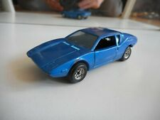 Politoys Pantera GT De Tomaso in Blue on 1:43