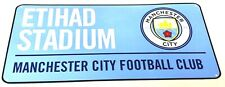 Manchester City Street Plaque Sign Official Football Club Gifts