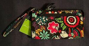 Vera Bradley Magical Blooms Wristlet Disney Park Mickey/Minnie Mouse - NWT