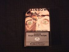 Rainbow - Straight Between The Eyes - 1982 Cassette / VG+/ Hard Rock Metal