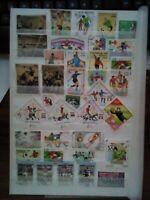 Fussball Football Briefmarken Timbres Sellos Stamps