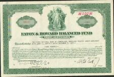 DECO => EATON & HOWARD BALANCED FUND (USA) (H)